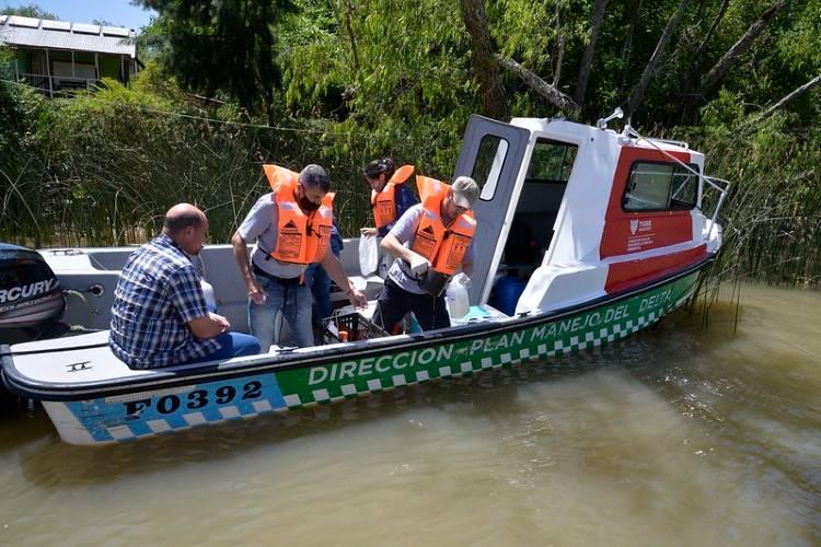 Crean la mesa interinstitucional por la situación de las cianobacterias en el Río de la Plata