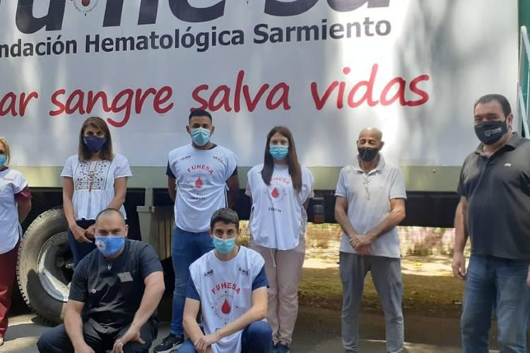 La comunidad de Tigre continúa colaborando con la campaña de donación de sangre