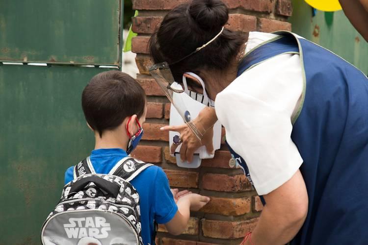 Empezaron las clases de revinculación en los jardines de infantes de San Isidro