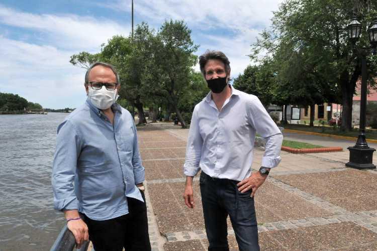 Diego Valenzuela se reunió con Segundo Cernadas en Tigre