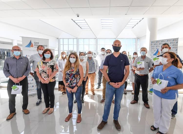 San Fernando celebró el Día del Médico reconociendo a profesionales de salud
