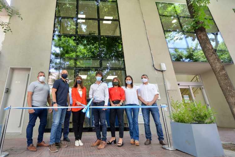 Juan Andreotti inauguró el nuevo edificio de Economía y Obras Públicas