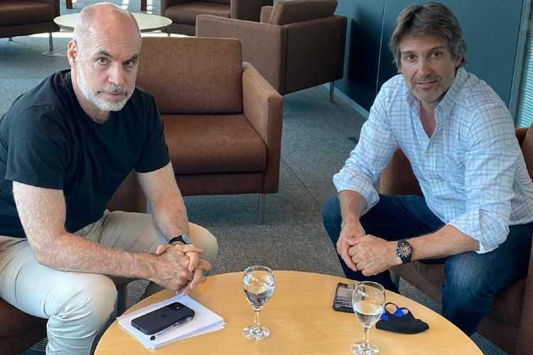 Horacio Rodríguez Larreta y Segundo Cernadas se reunieron para mejorar los equipos de trabajo en Tigre