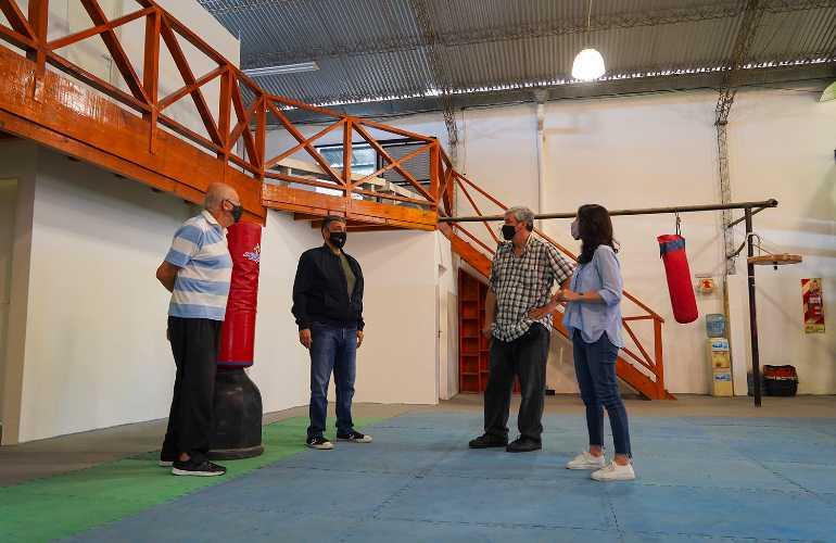 Presupuesto Participativo: Finalizaron las obras en el Club Cires Norte  de Olivos