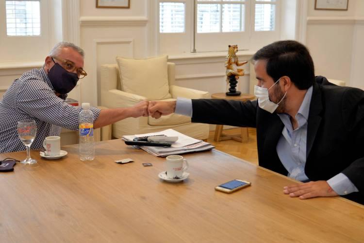 Parque de la Costa: Julio Zamora y Alejandro Macia reunidos con eje en la preservación de puestos de trabajo