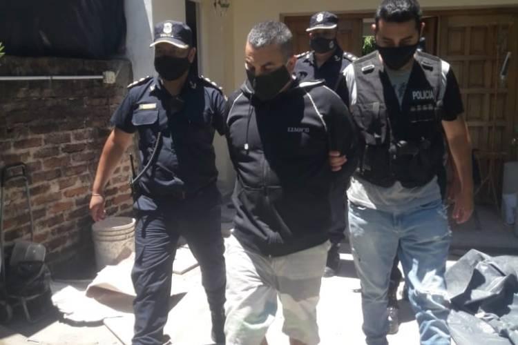 Detienen a Fabián Tablado por violar la perimetral sobre el padre de Carolina Aló