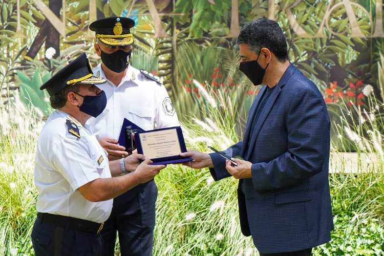 Jorge Macri destacó el compromiso de la Policía Bonaerense