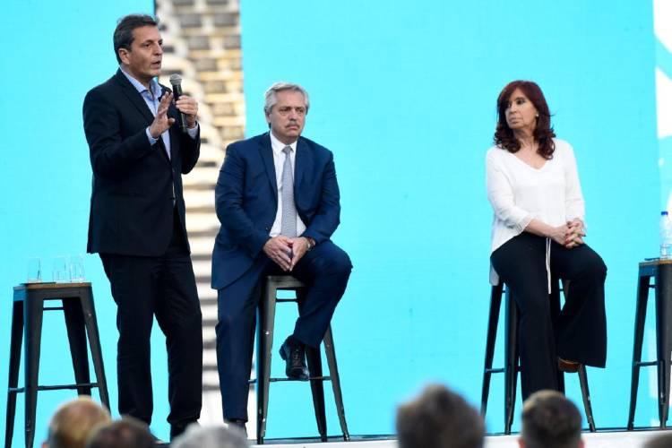 """Sergio Massa: """"Nuestra responsabilidad es devolver a millones de argentinos la esperanza, el trabajo y la dignidad"""""""
