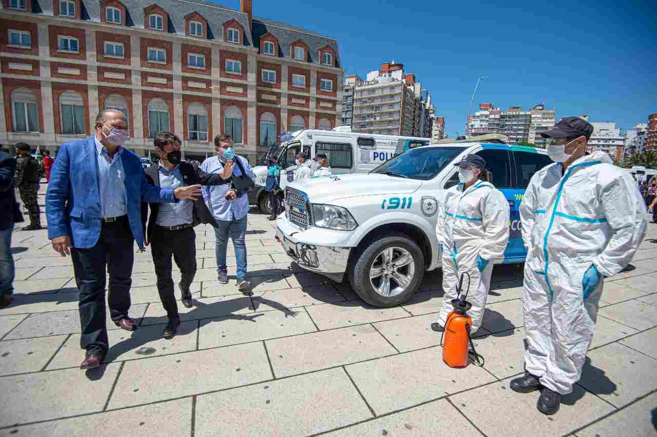 Con un acto en Mar Del Plata se puso en marcha el Operativo Sol 20/21