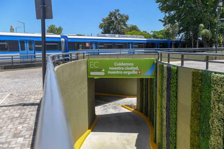 Se inauguró en San Fernando el Túnel Diego Armando Maradona