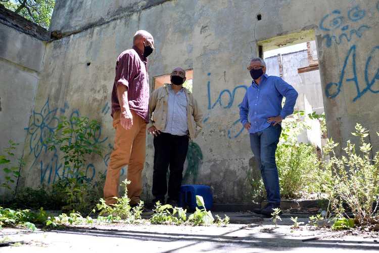 Julio Zamora recorrió el predio recuperado por el Municipio de Tigre en el Delta