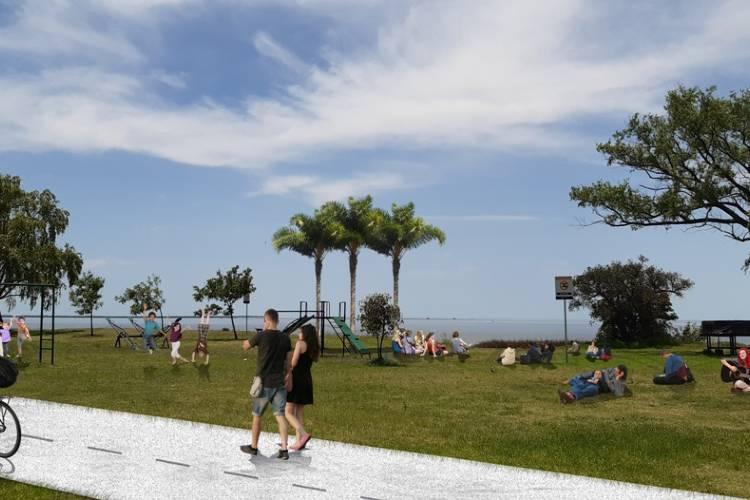 San Isidro incorpora 1.200 metros de costa y lo transforma en parque público