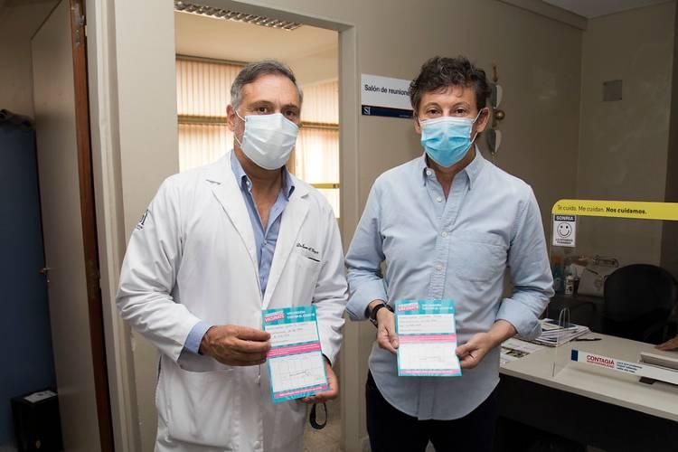 Comenzó en San Isidro la campaña de vacunación contra el Covid-19