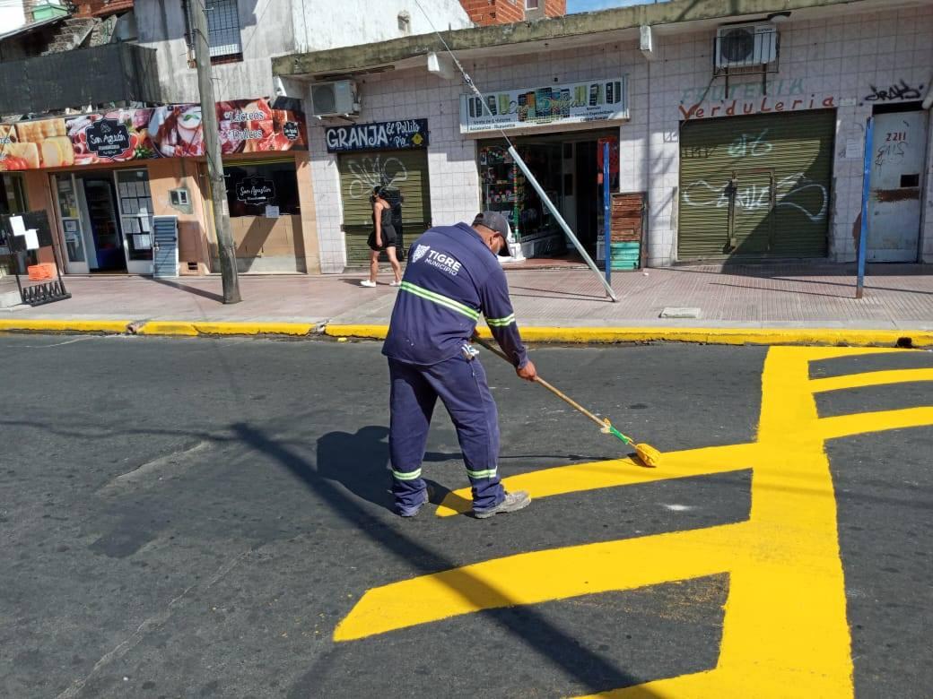 El Municipio extiende trabajos de mantenimiento integral en más localidades de Tigre