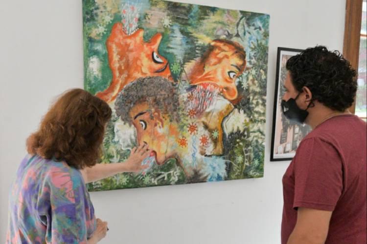 Grandes referentes de la Sociedad Sanfernandina para el Arte exponen en el Museo de San Fernando