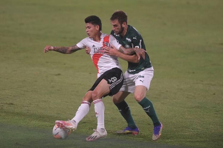 River sufrió un duro revés como local ante Palmeiras en la ida de la semifinal de Libertadores
