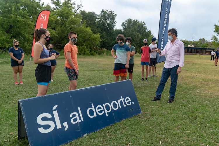 En San Isidro comenzaron las escuelas deportivas y recreativas de verano