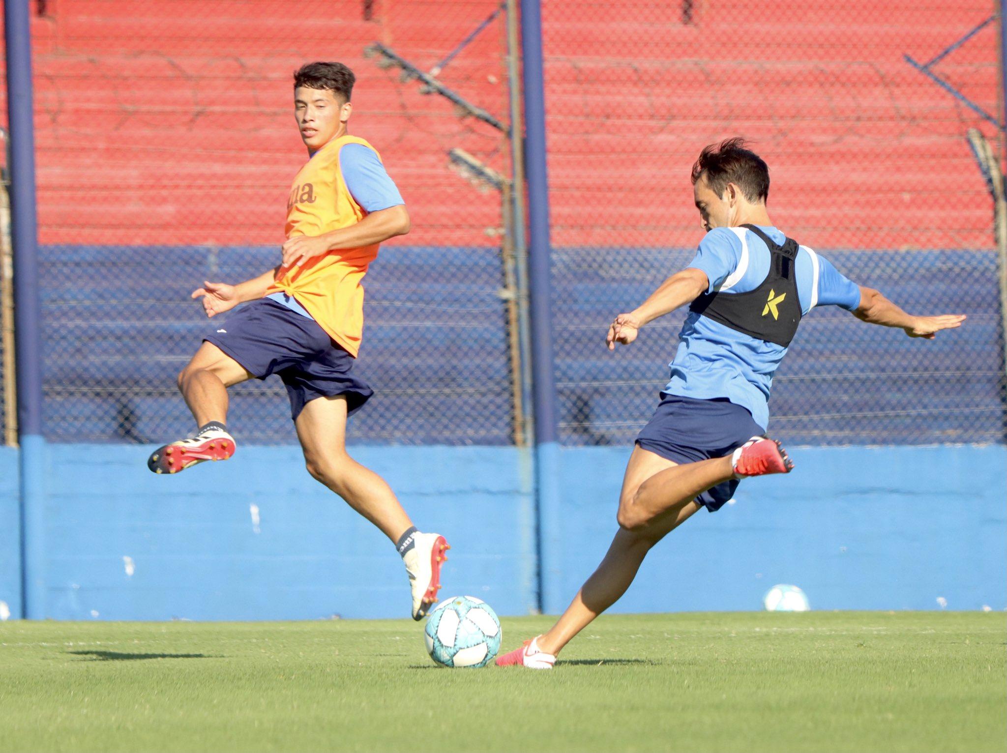 Club Tigre entrenamiento