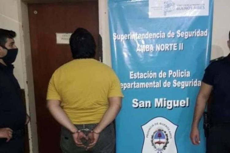Detienen a un hombre que amenazó con prender fuego a su mujer y a sus seis hijos en San Miguel