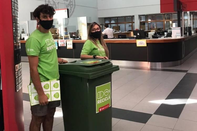 Tigre también promueve el reciclado en sus trabajadores municipales