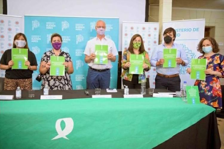 Se presentó la Guía de Implementación de Interrupción Voluntaria del Embarazo en la Provincia de Buenos Aires