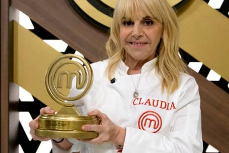 """Claudia Villafañe ganó el primer """"MasterChef Celebrity"""" en final con picos de 26.5 de rating"""