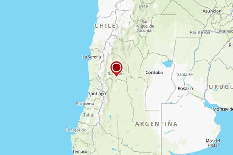 Fuerte sismo en Media Agua, San Juan, fue percibido en varias provincias