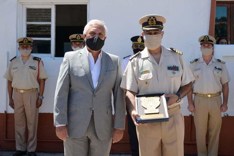 Autoridades municipales acompañaron el cambio de mando en la Prefectura Naval de Tigre.