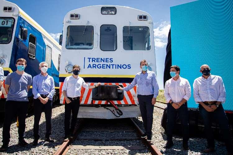 Inauguran el retorno del tren de pasajeros a Pinamar