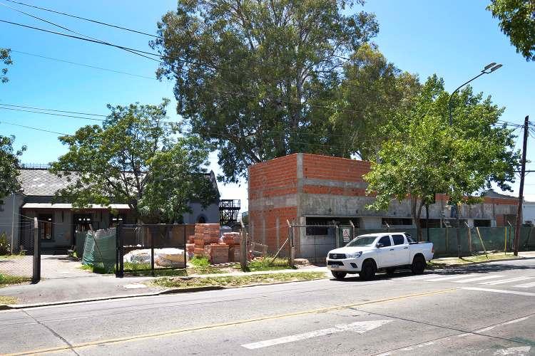Atención primaria: avanza la construcción del nuevo Centro de Salud de Tigre Sur.