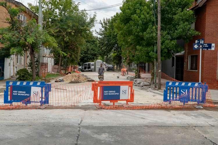 San Isidro: avanza la renovación de pavimentos en Martínez