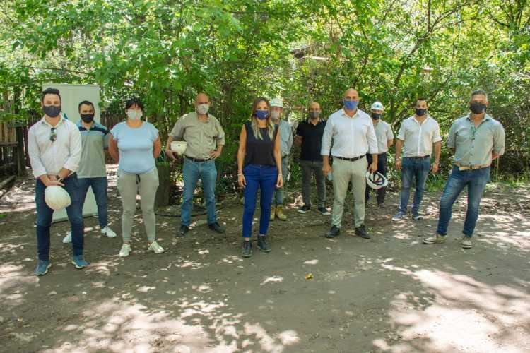 Malena Galmarini habilitó una nueva obra de agua potable en Dique Luján y Villa La Ñata