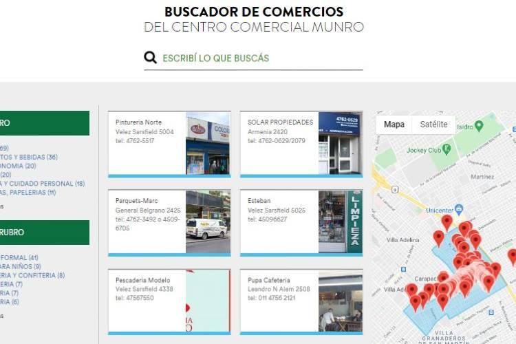 Más de 1100 inscriptos en la guía de comercios online de Vicente López