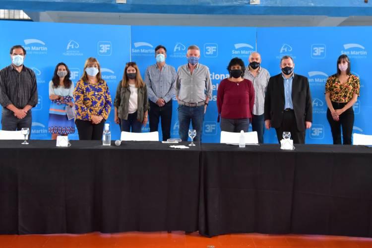 Se presentó en San Martín el Programa Nacional de Educación para el Trabajo y Desarrollo Sostenible