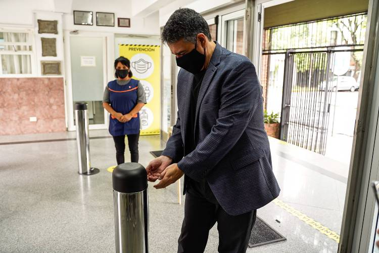 """Jorge Macri: """"Vicente López está preparado con los protocolos para volver a clases"""""""