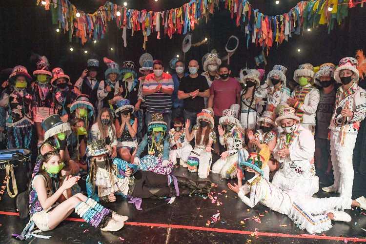 San Fernando disfrutó el carnaval 2021 de forma virtual desde el Teatro Martinelli