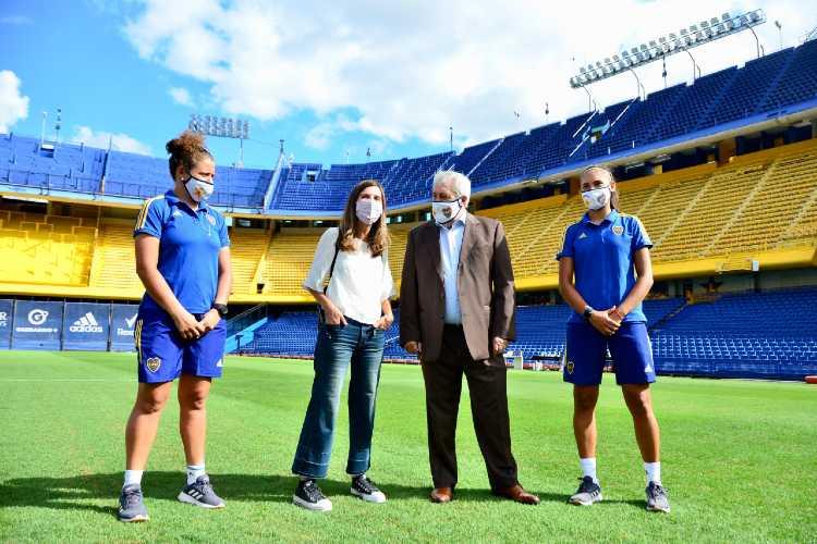 La ANSES firmó un convenio con el club atlético Boca Juniors