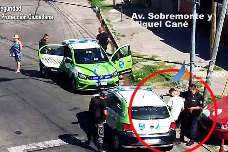 Detienen en San Fernando a dos ladrones a pocos minutos de robar un local de ropa
