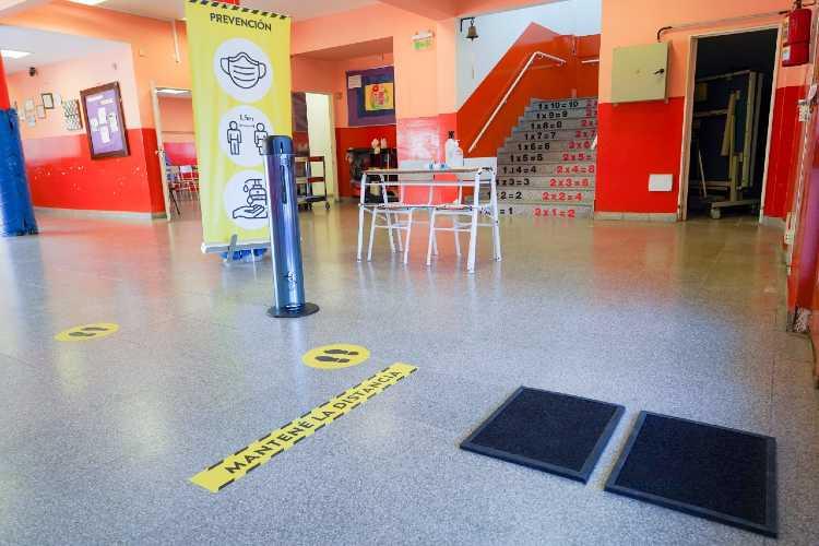 Se intensifican en Vicente López los protocolos para la vuelta a clases