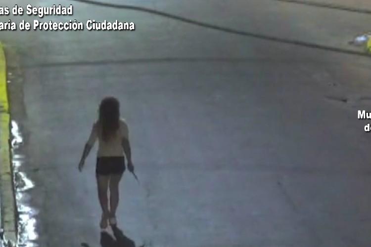 Violó una perimetral portando un Cuchillo y fue detenida por el COT