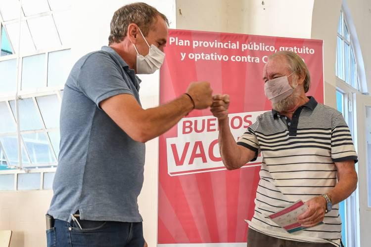 En San Fernando continúa la vacunación contra el covid-19