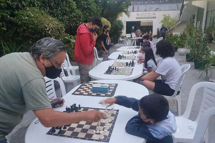 Tigre inicia sus talleres abiertos y gratuitos de ajedrez