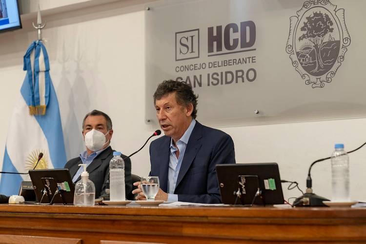 Gustavo Posse inauguró las sesiones del Concejo Deliberante de San Isidro