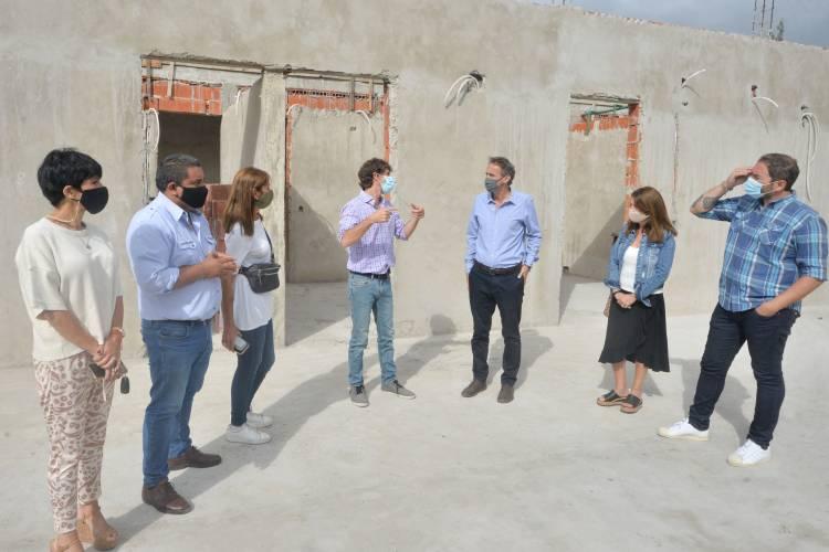 Andreotti y Katopodis recorrieron importantes obras para San Fernando que financia la Nación