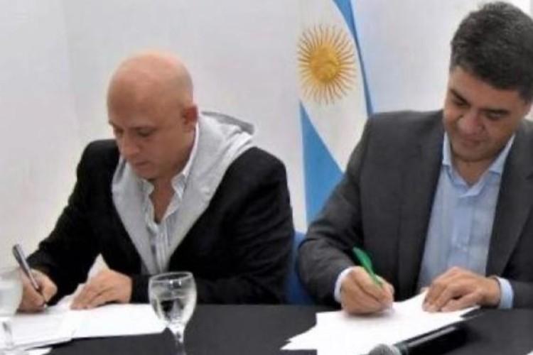 Victor Pirillo y Jorge macri