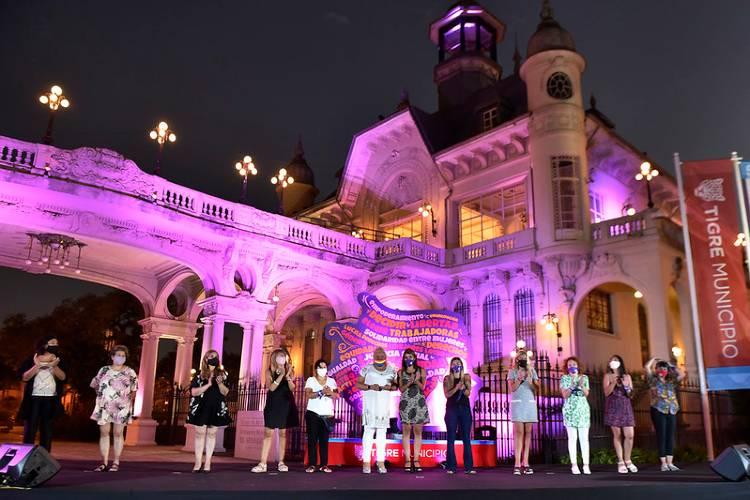 El Municipio de Tigre conmemoró el Día Internacional de la Mujer