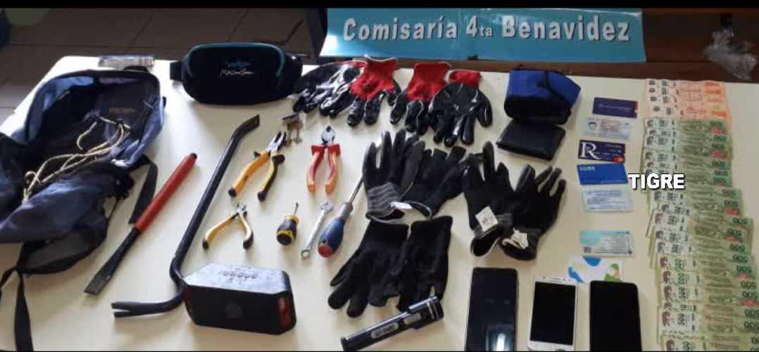 Persecución en Benavidez: Detienen a una banda robacasas