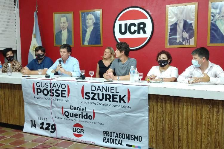 Gustavo Posse, Martín Lousteau, UCR, UCR Vicente López