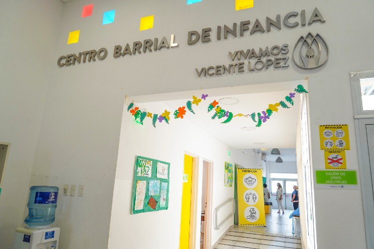 Reabren los Centros Barriales de Infancia y Juventud en Vicente López