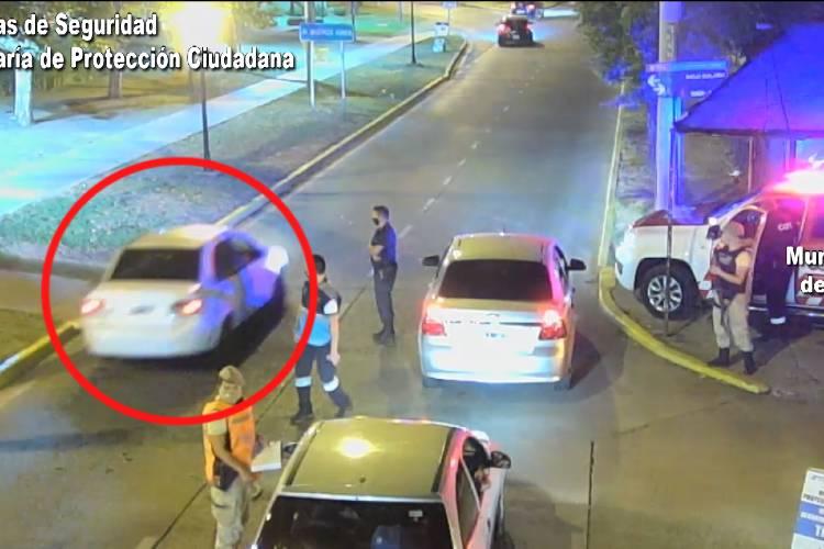 Huida y persecución en Tigre: evadió un control vehicular y fue detenido